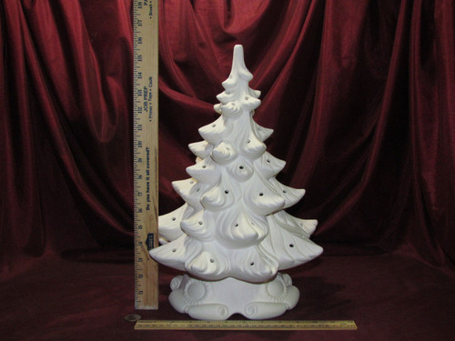 Ceramic Bisque Atlantic Christmas Tree Ready To Paint