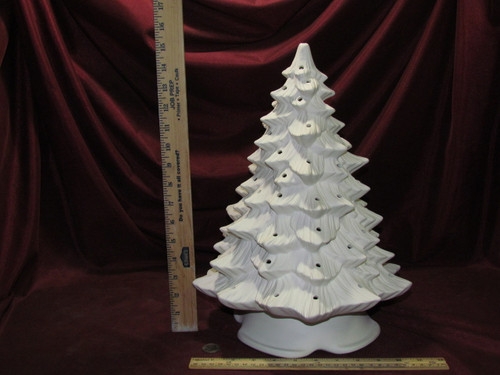 Ceramic Bisque Doc Holliday Christmas Tree Ready To Paint