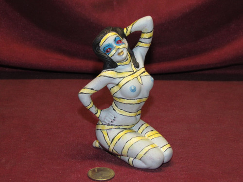 Sexy Mummy Posing ~ Monster Pinup Lady ~ Finished & Ready to Display
