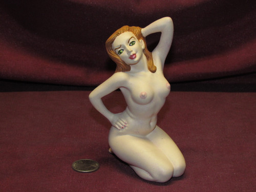 Sexy Aurora Posing ~ Pinup Lady ~ Finished & Ready to Display