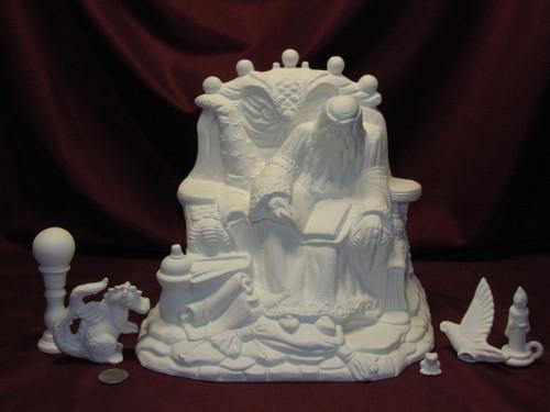 Ceramic Bisque Wizard U Paint unpainted ready to paint diy