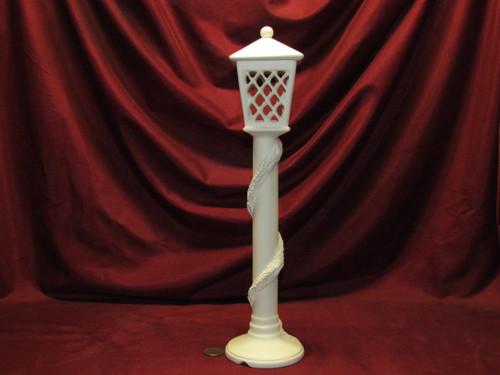 Ceramic Bisque U Paint Atlantic Lamp Post Ready to Paint