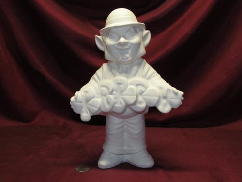 Ceramic Bisque U-Paint Leprechaun Greeter Ready to Paint Irish Saint Patrick's Day