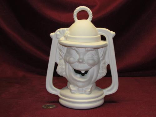 Ceramic Bisque U-Paint Leprechaun Lantern ~ Irish Saint Patrick's Day ~ Ready to Paint Unpainted DIY