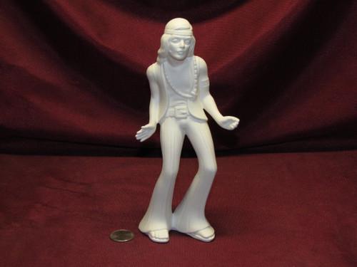 Ceramic Bisque U Paint Hippy Man ~ Dancer Ready to Paint unpainted diy