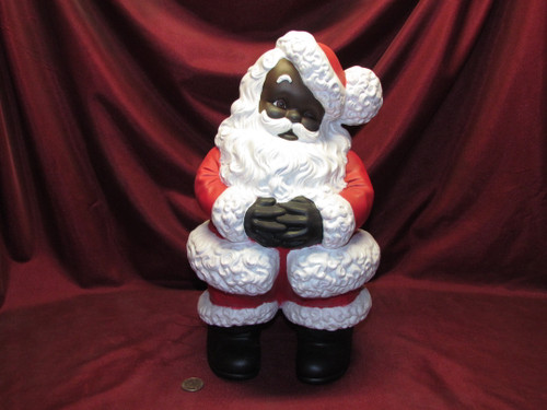 Large Mr Santa Claus ~ Hand Painted ~ Ceramic Bisque ~ Ready to Display