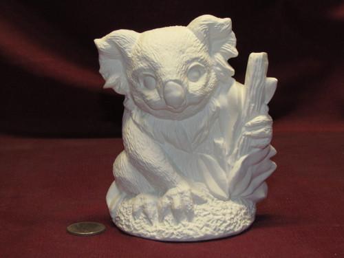 Ceramic Bisque U Paint Koala Bear unpainted ready to paint diy