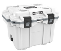 "Pelican holds themselves to higher criteria than other cooler makers. When it comes to durability, performance and ergonomic design, just ""good enough"" doesn't cut it. As a result, Pelican Elite Coolers perform to higher standards better than any cold locker, tougher than any icebox. Pelican Elite Coolers are true next-generation innovations, created to last a lifetime. From the latches to the freezer-grade seal to the toughest handles in the business, every part is engineered to our extreme durability and performance standards. Which is why we feel confident in providing you with a Lifetime Guarantee. Not three years. Not five years. A lifetime. Something the other makers don't (or can't) do. Whether you're on the hunt of a lifetime, far out at sea with a cooler full of catch, crossing deserts on safari or simply tailgating during a big game the Pelican Elite Cooler is the one for you.  Specifications:  INTERIOR: 14.60 x 10.20 x 11.00 (37.1 x 25.9 x 27.9 cm) EXTERIOR: 25.30 x 19.00 x 18.50 (64.3 x 48.3 x 47 cm) VOLUME: 32.95QT (31.18 liters) INT VOLUME: 0.95 ft³ (0.027 m³) INSULATION THICKNESS: 2.10 (5.3 cm) WEIGHT: 21.67 lbs (9.8 kg)"