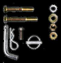 3P Adjustable Hitch Bar Complete Hardware Kit