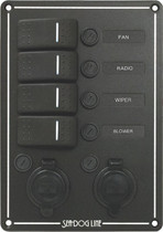 SWITCH PANEL, ROCKER