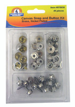 SMALL SNAP/BUTTON KIT (44 Pieces)