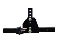 "ProPride 3P Adjustable Hitch Bar with 2.0""  Receiver Complete Assembly"