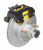 Vented Rotor Disc Brake Kit - Dexter Axle - 33-82406