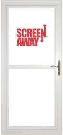 Larson Premium Storm Door with Rollscreen