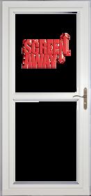 Larson Premium Storm Door with Rollscreen