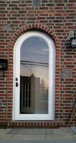 Arch Top Storm Door