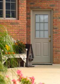 Smooth Fiberglass Entry Doors