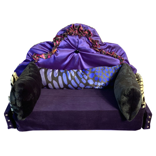 Customize your dog or cat bed in your favorite colors.  Beds made with a wood base, fabric covering and base in either foam or pillow bedding.  Contact a member of our team to discuss making your pets dreams come true.  Pets up to 30lbs.  4-6 week delivery.  Made in USA  773.998.2181