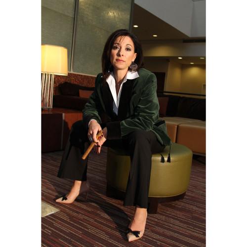 Women s Laurel Green Velvet Smoking Jacket with Black Lining 48c1d3682b