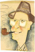 Smoky Joe Caricature