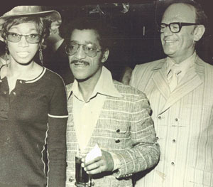 Sammy Davis, Jr. and Smoky Joe