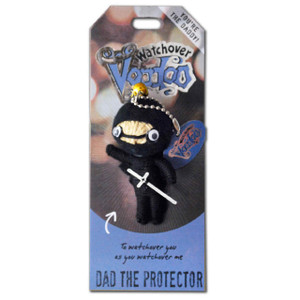 Dad the Protector Watchover Voodoo Doll
