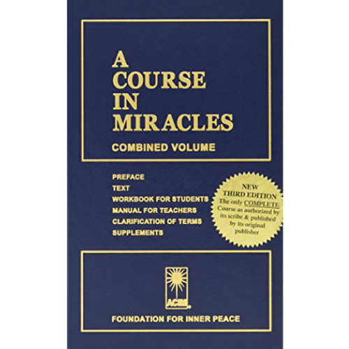 A Course in Miracles, combined 3rd edition - HCopy