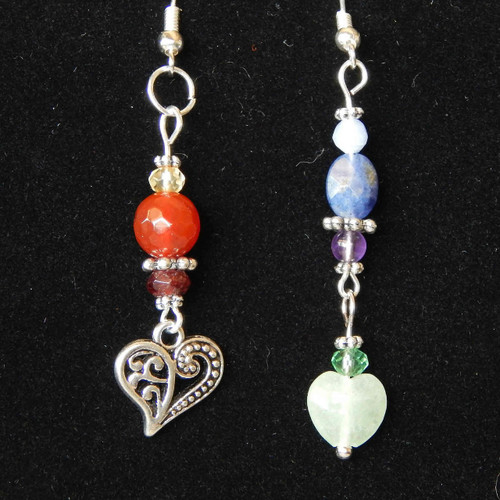 Chakra Dangle Earrings