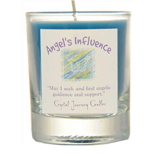 Angel's Influence Glass Filled Votive Candle