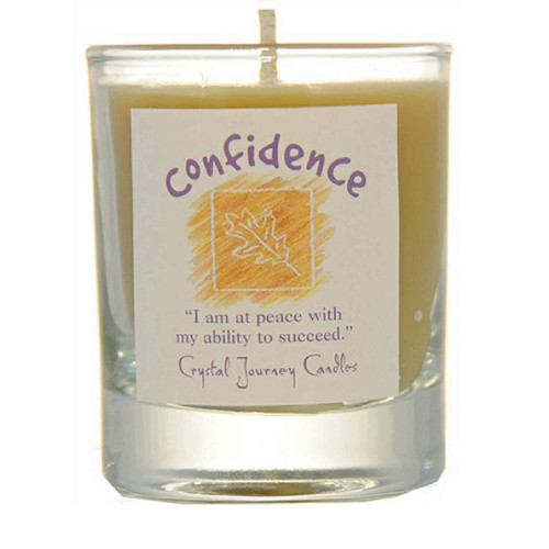 Confidence Glass Filled Votive Candle