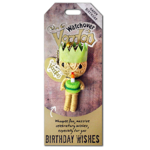 Birthday Wishes Watchover Voodoo Doll - NO REFUND, NO RETURN
