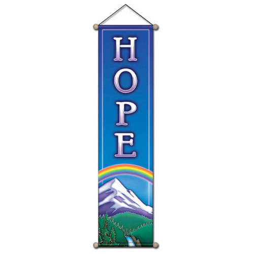Small Affirmation Banner, Hope Mountain
