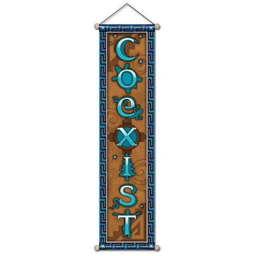 Small Affirmation Banner, CoExist
