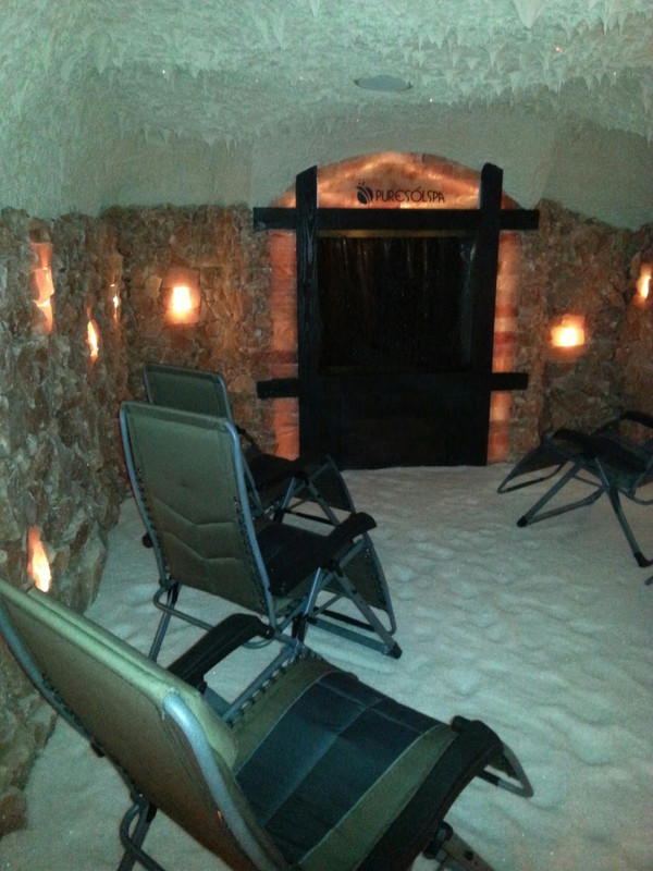 Salt Cave Rental - Full Payment in Advance
