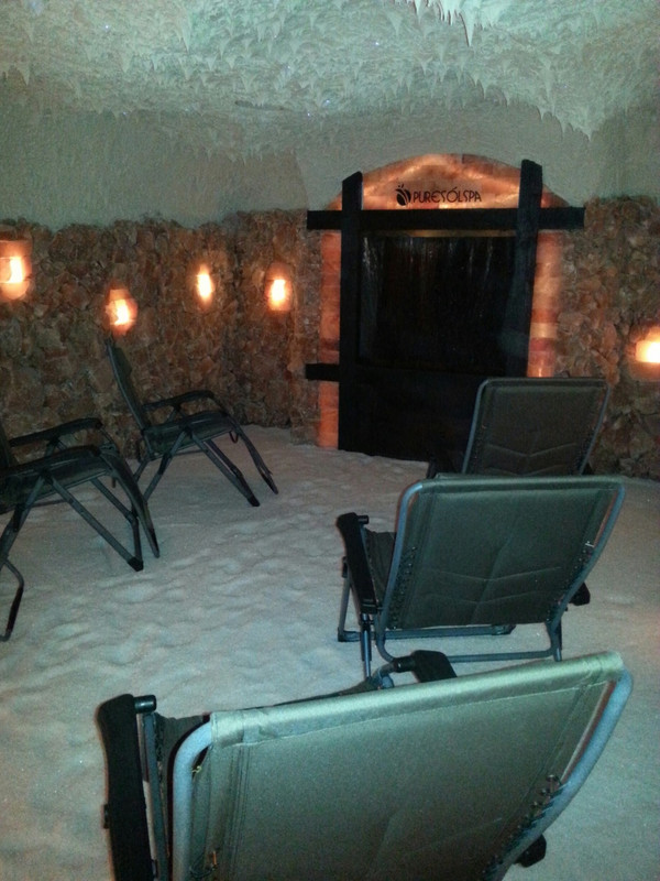 Salt Cave Rental - 50% Down Payment