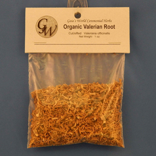 (OH12510) Organic Valerian Root,  1.0 oz. bag