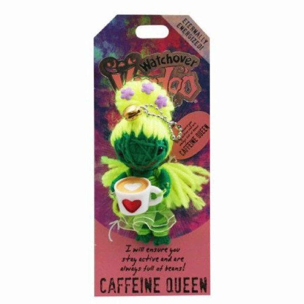 Caffeine Queen Watchover Voodoo Doll
