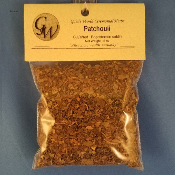 Patchouli, cut and sifted  (HC15105)