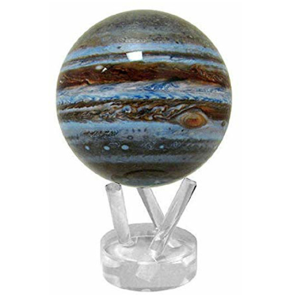"Jupiter Mova Globe, 6"" with acrylic base"