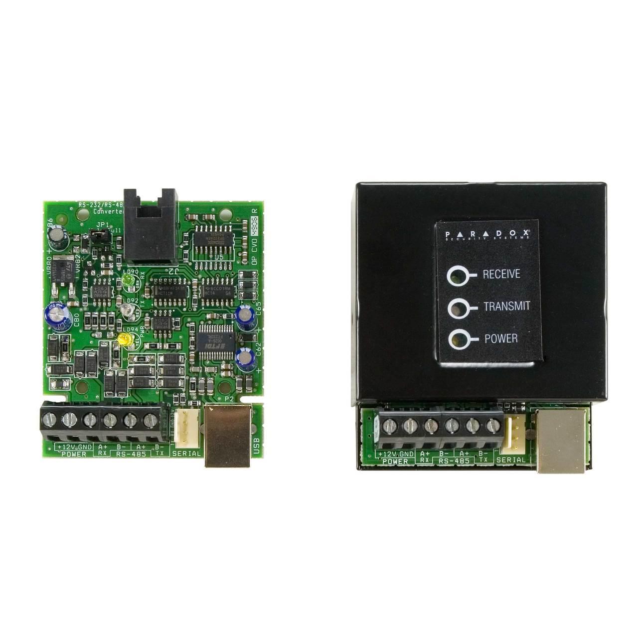 Paradox CV4USB RS-485 / RS-232 Converter Kit
