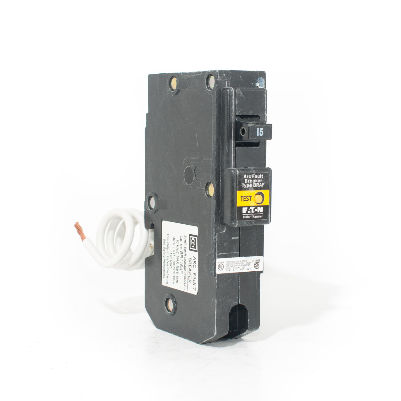 Shop Eaton Type Ch 15amp Singlepole Circuit Breaker At Lowescom