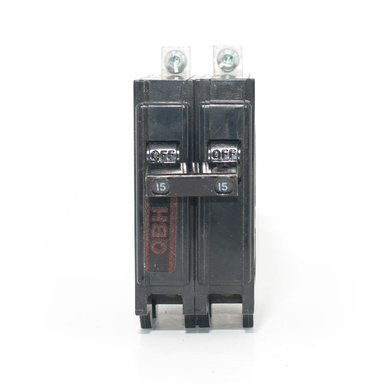 Eaton Cutler-Hammer BAB2015 2 Pole 15 Amp 240 Volt Circuit Breaker