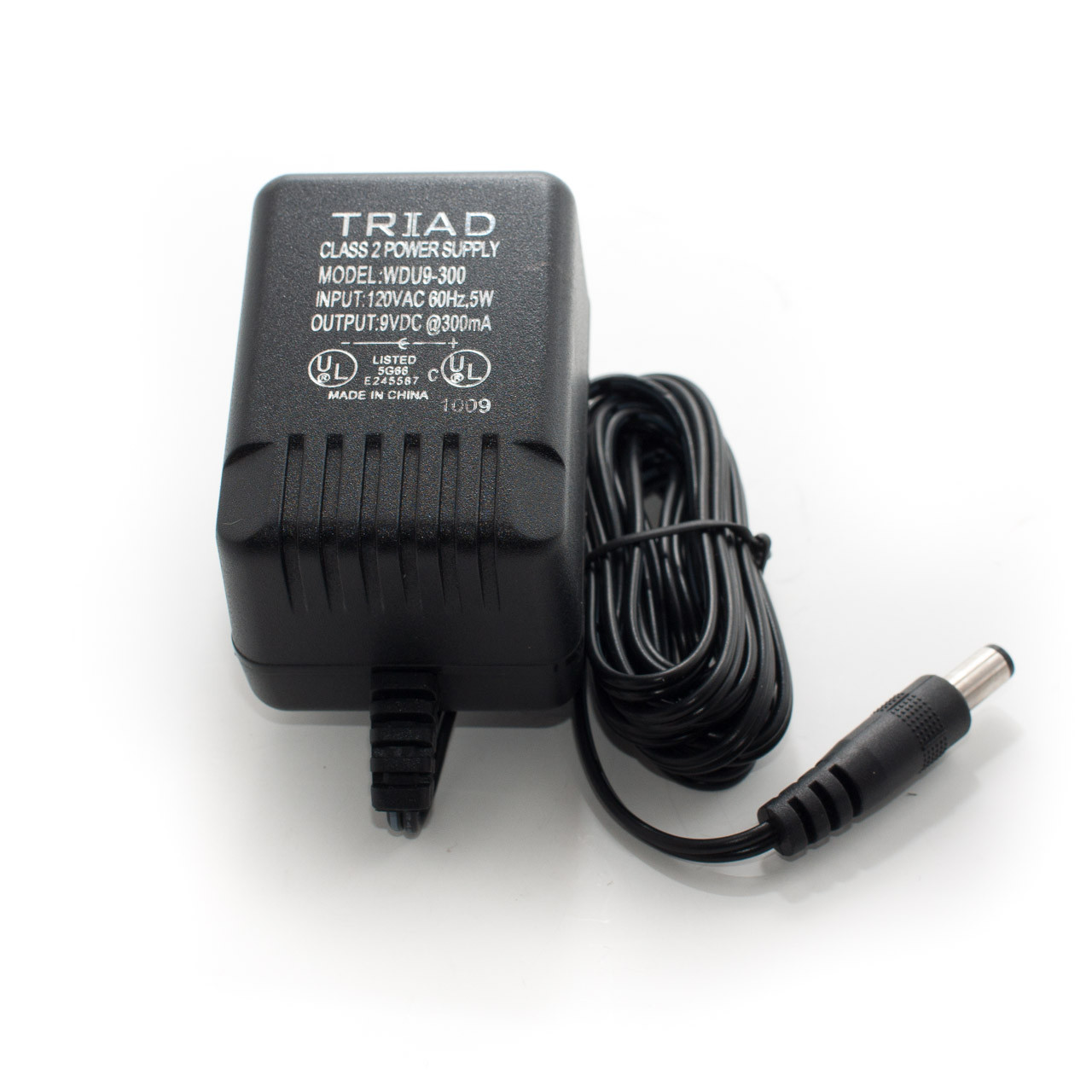 Triad 9VDC 300mA Power Supply
