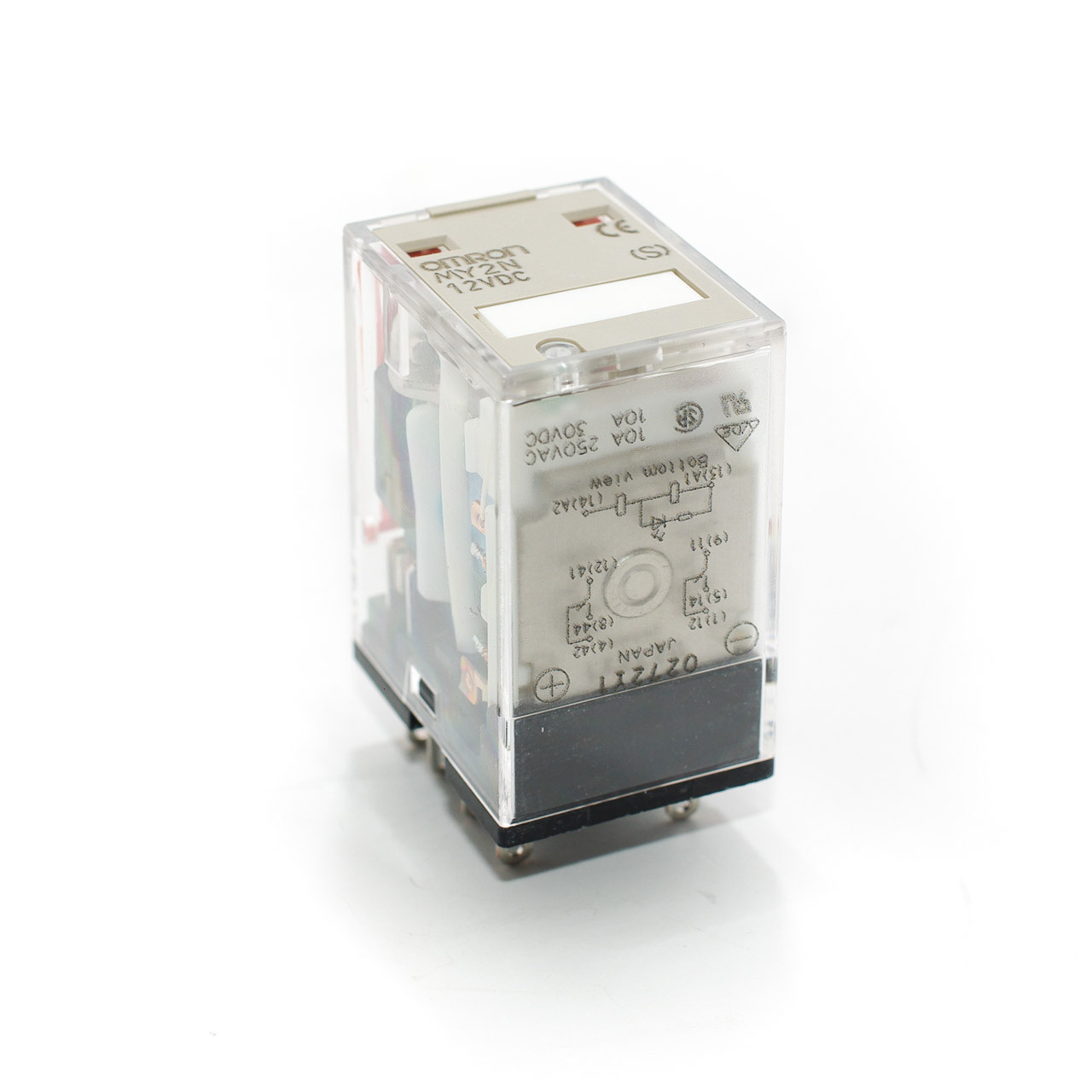 Omron MY2N 12VDC Relay W/LED Indicator