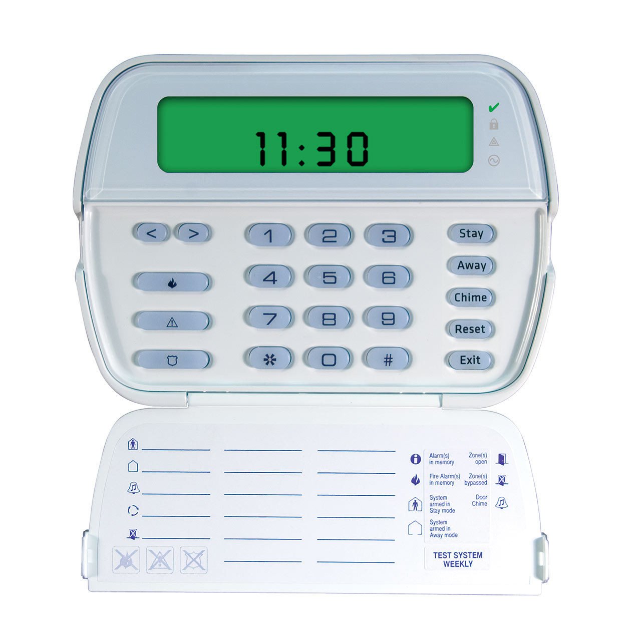 DSC PK5501 LCD Picture Icon Keypad - 64 Zone English