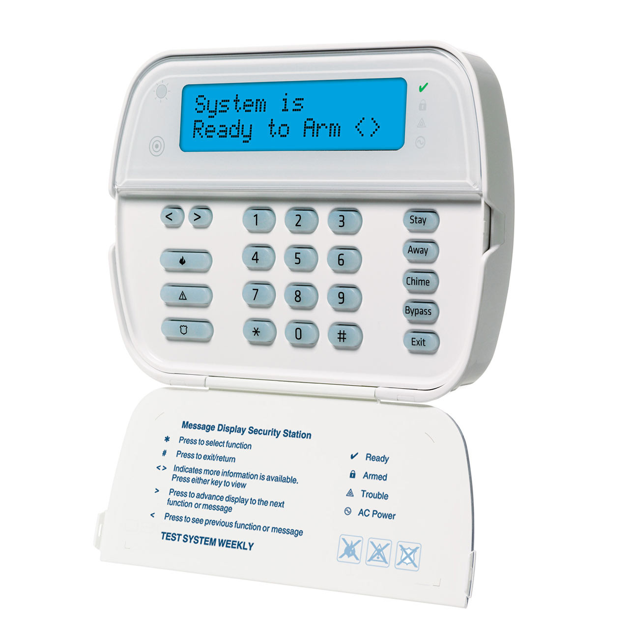 Dsc Wt5500 Lcd Wireless Keypad Tremtech Electrical