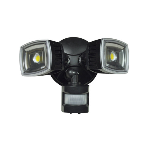 RAB DESIGN LED Twin Floodlight Motion Detector 28W
