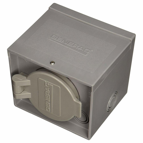 Generac 120/240V 30A Power Inlet Box