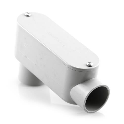 "Royal 1-1/4"" PVC LB Fitting"