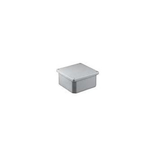 "Royal 8x8x4"" PVC Junction Box"
